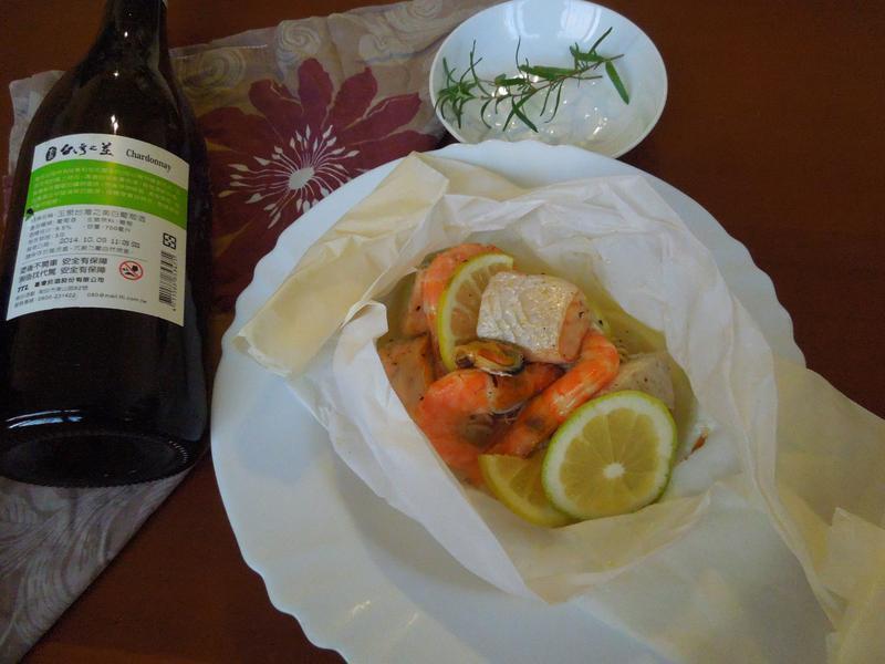 【白酒微醺時光】爐烤紙包白酒海鮮