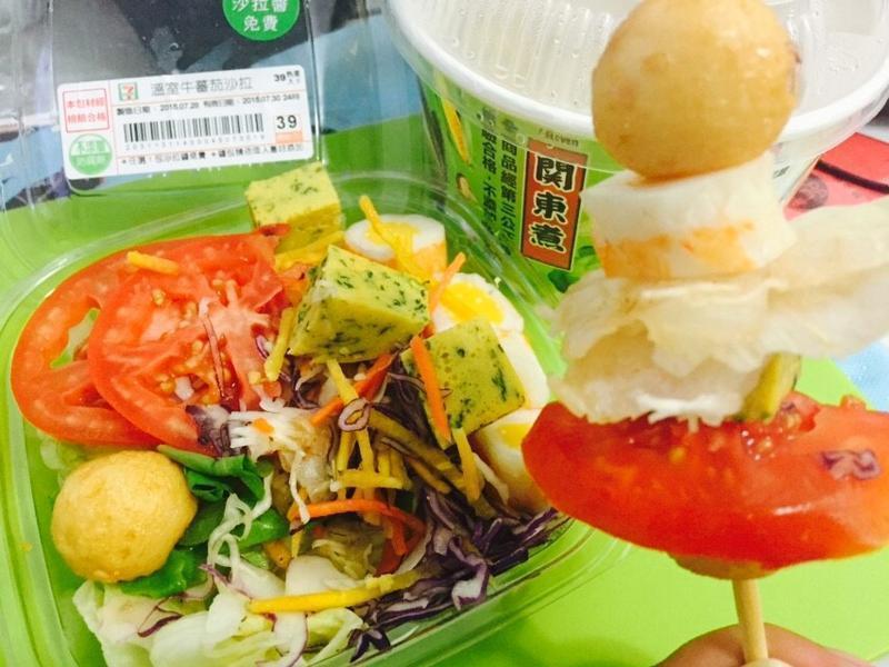 關東煮沙拉串_小七夏日輕食尚