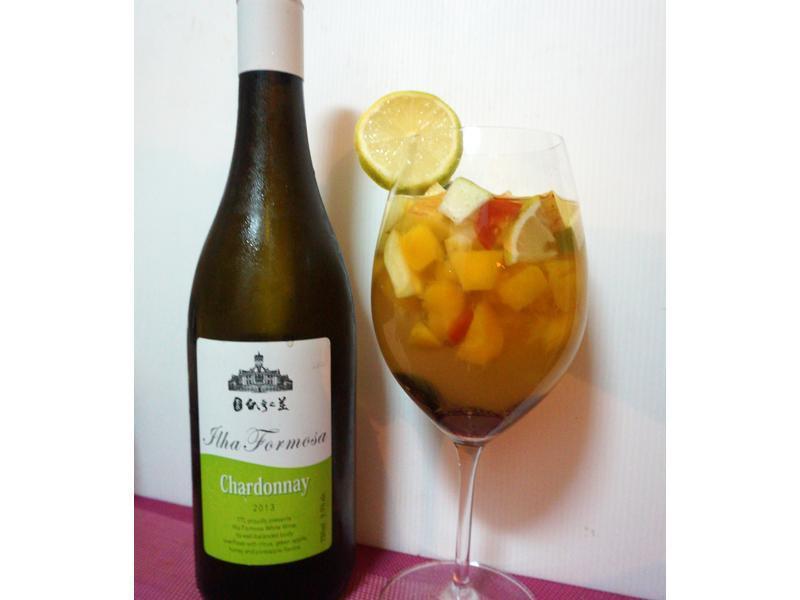 白酒水果凍--玉泉台灣之美白葡萄酒