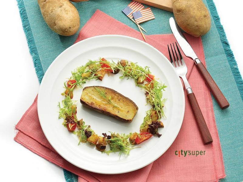 【美國馬鈴薯盛宴】炭烤薯排