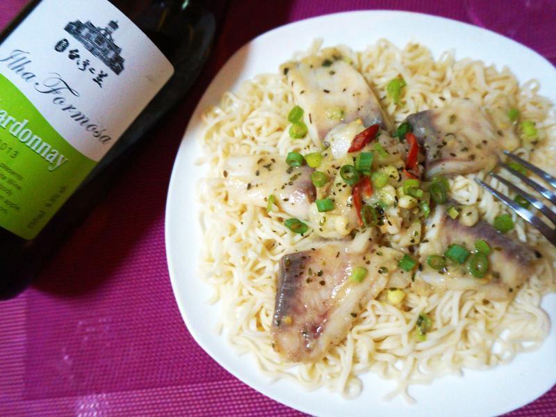 白酒麵香蒸鮮魚