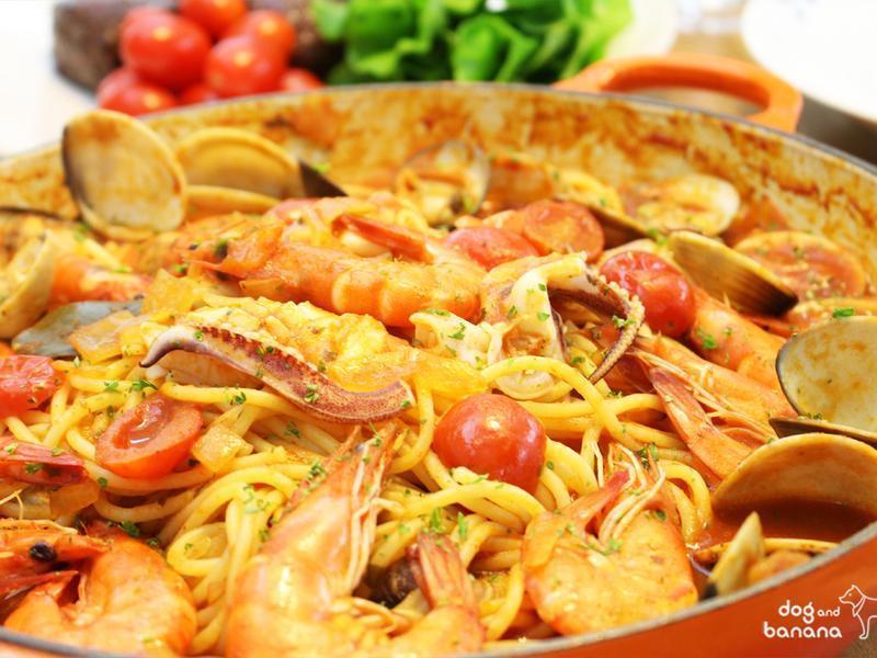 番茄漁夫義大利麵