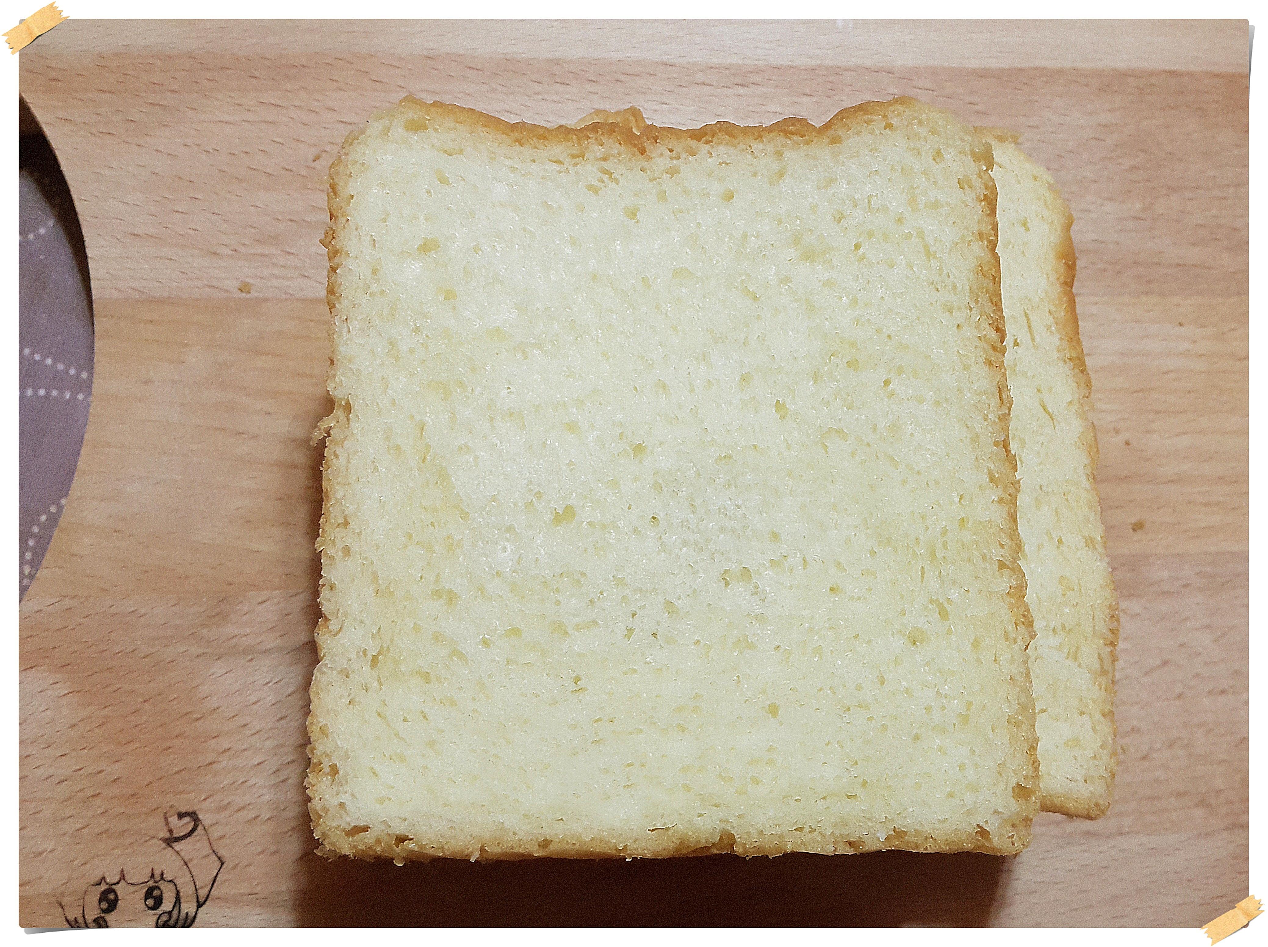 雲朵乳酪吐司(中種法)