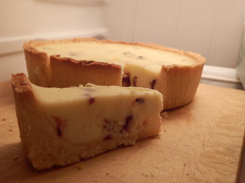 蔓越莓乳酪塔