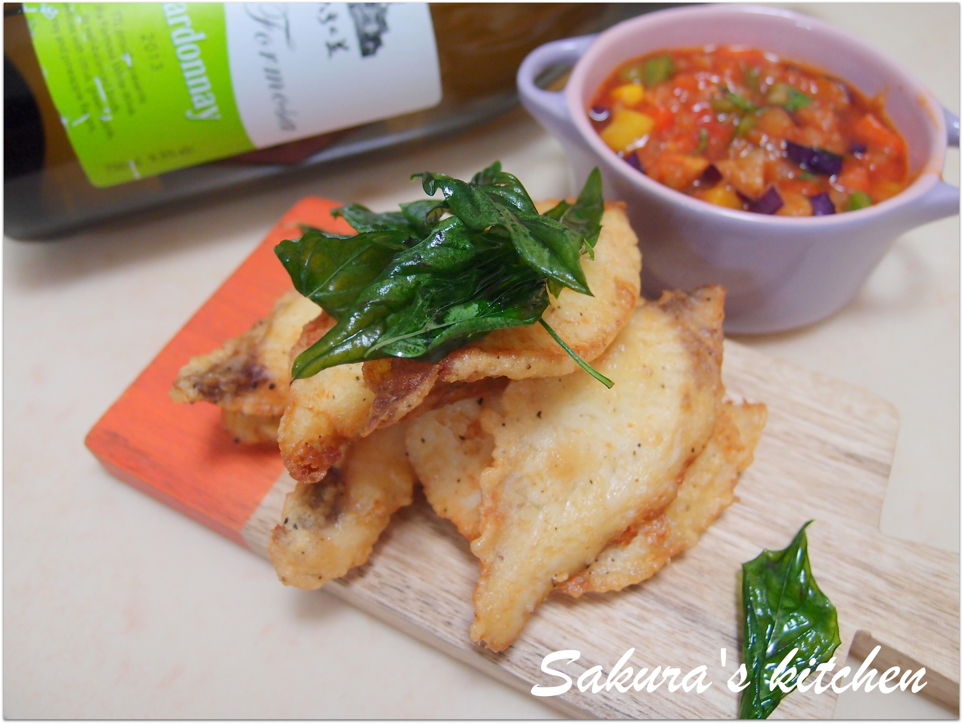 ♥我的玉泉白酒佐餐料理♥法式酸甜瓦魚片