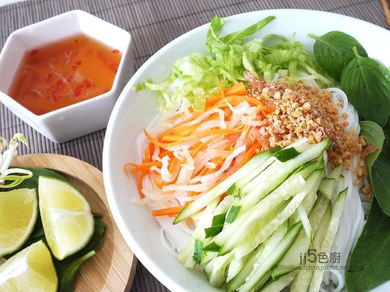 越南涼拌米粉