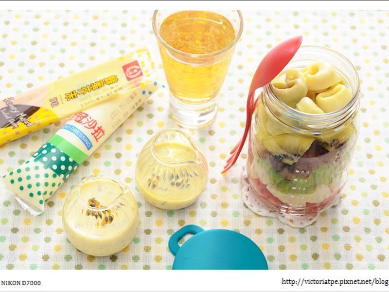 [桂冠沙拉]燻鴨蔬果罐沙拉佐雙醬