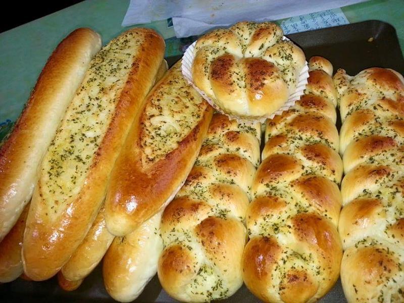 自制香蒜醬麵包系列