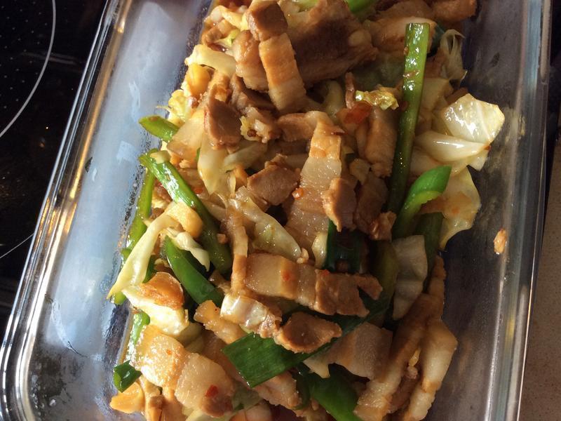 回鍋肉(高麗菜版)