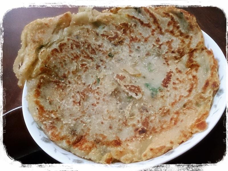 鮪魚蔥油餅