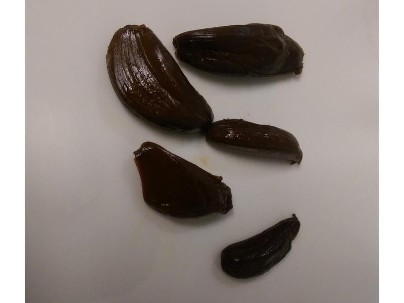 かにの黑蒜頭(black garlic)