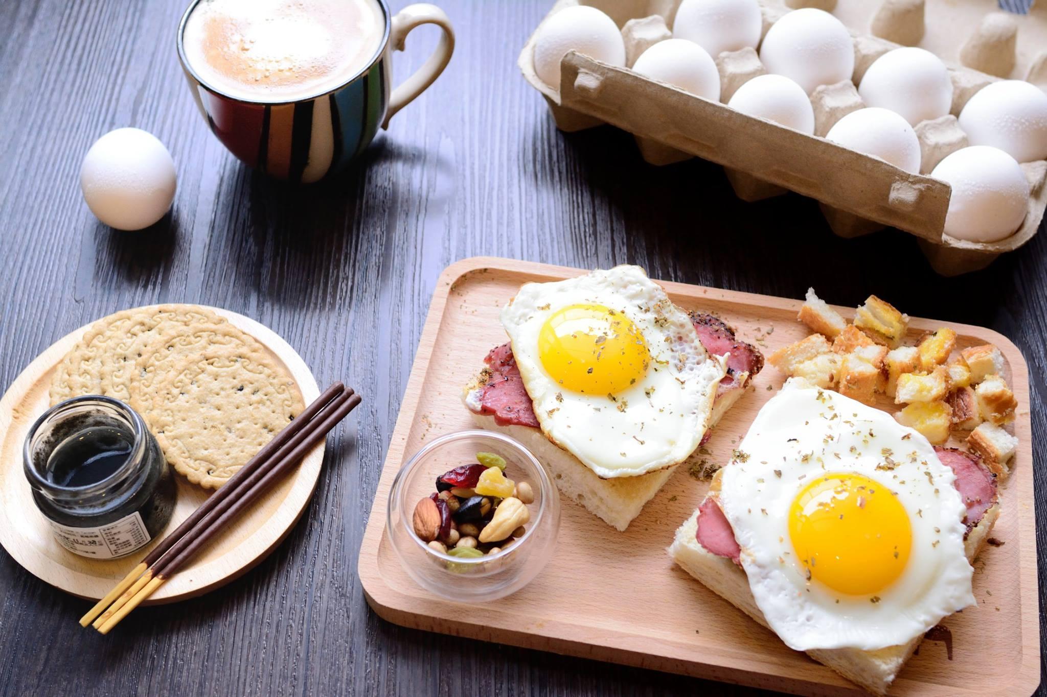 可愛蛋料理,豐盛早午餐。