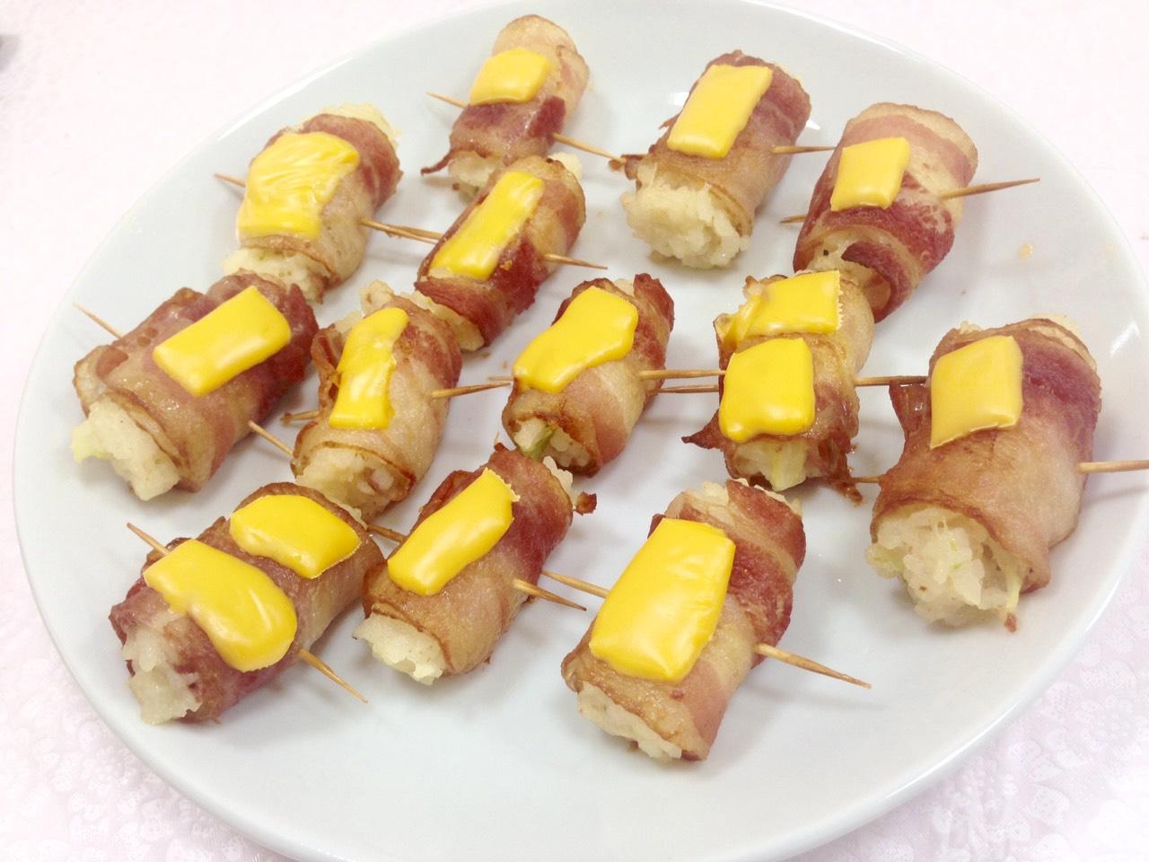 【香烤奶油培根頓飯捲】