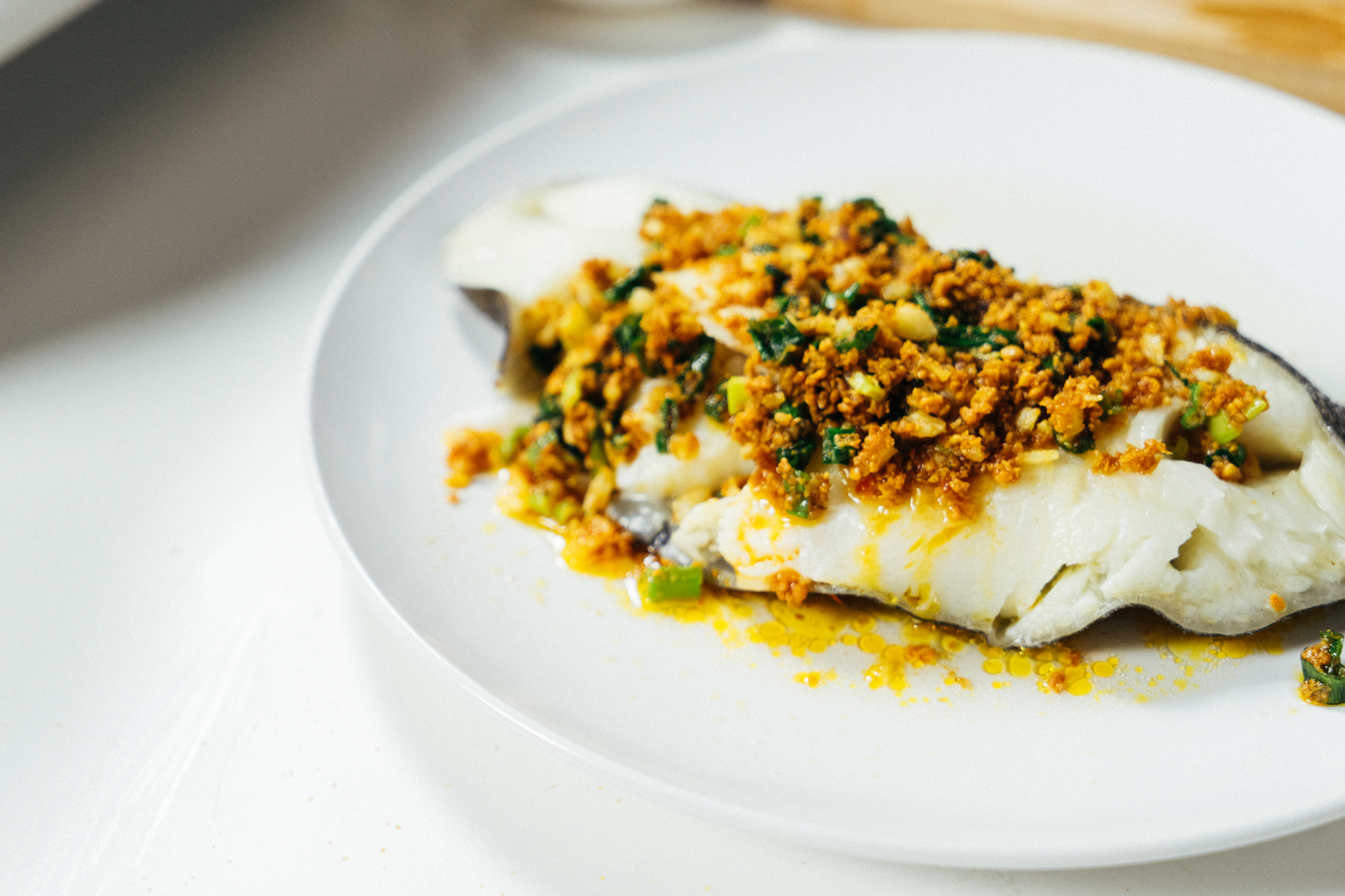 Crispy豆酥鱈魚-對時海鮮