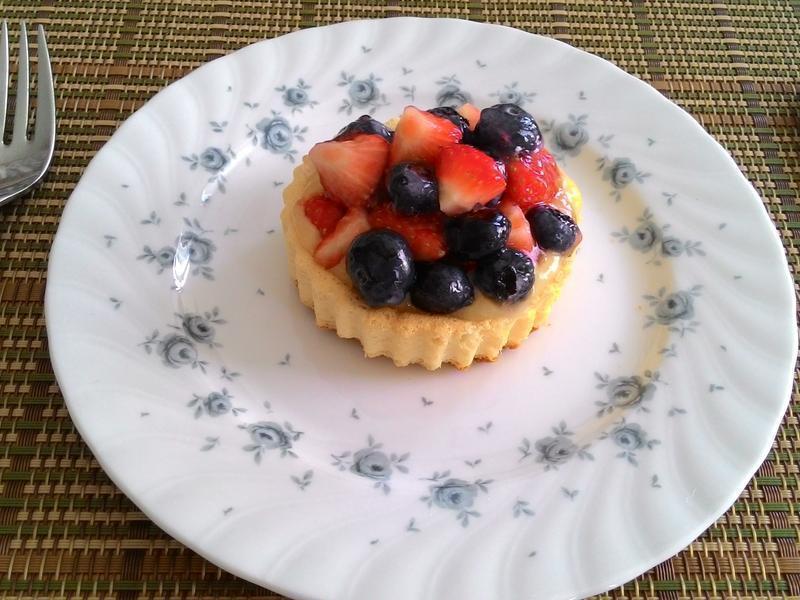 德式莓果蛋糕