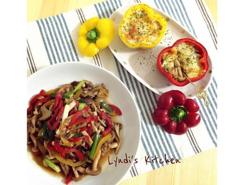 10分鐘上菜—紅燒什錦菇 & 焗烤菇菇盅