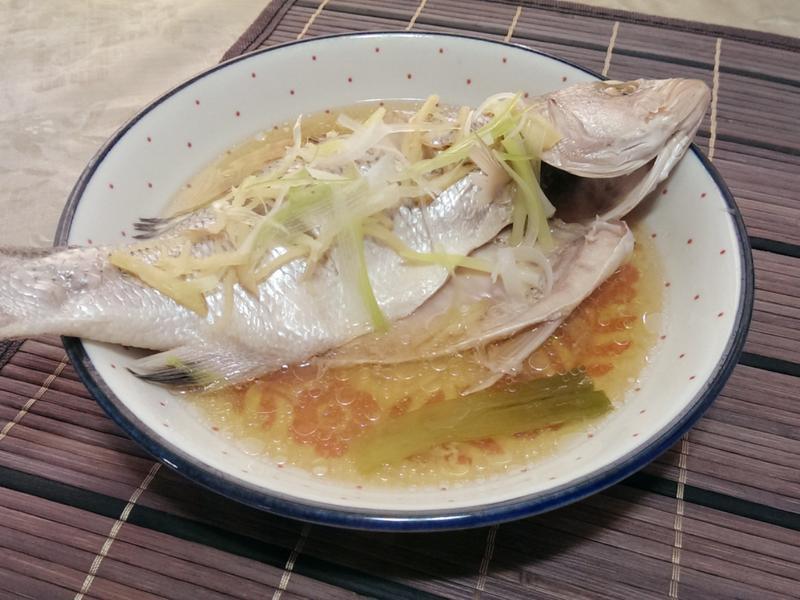 清蒸白鱸魚