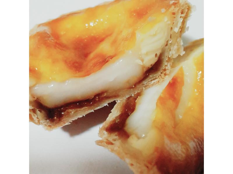 葡式黑糖麻糬蛋塔