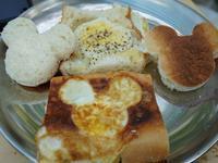 可愛米奇蛋土司