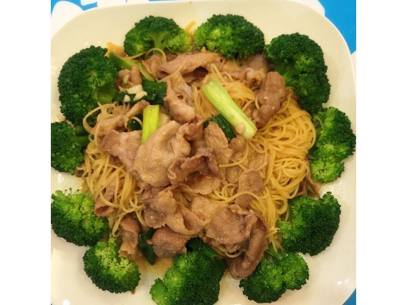 味增豬肉炒麵