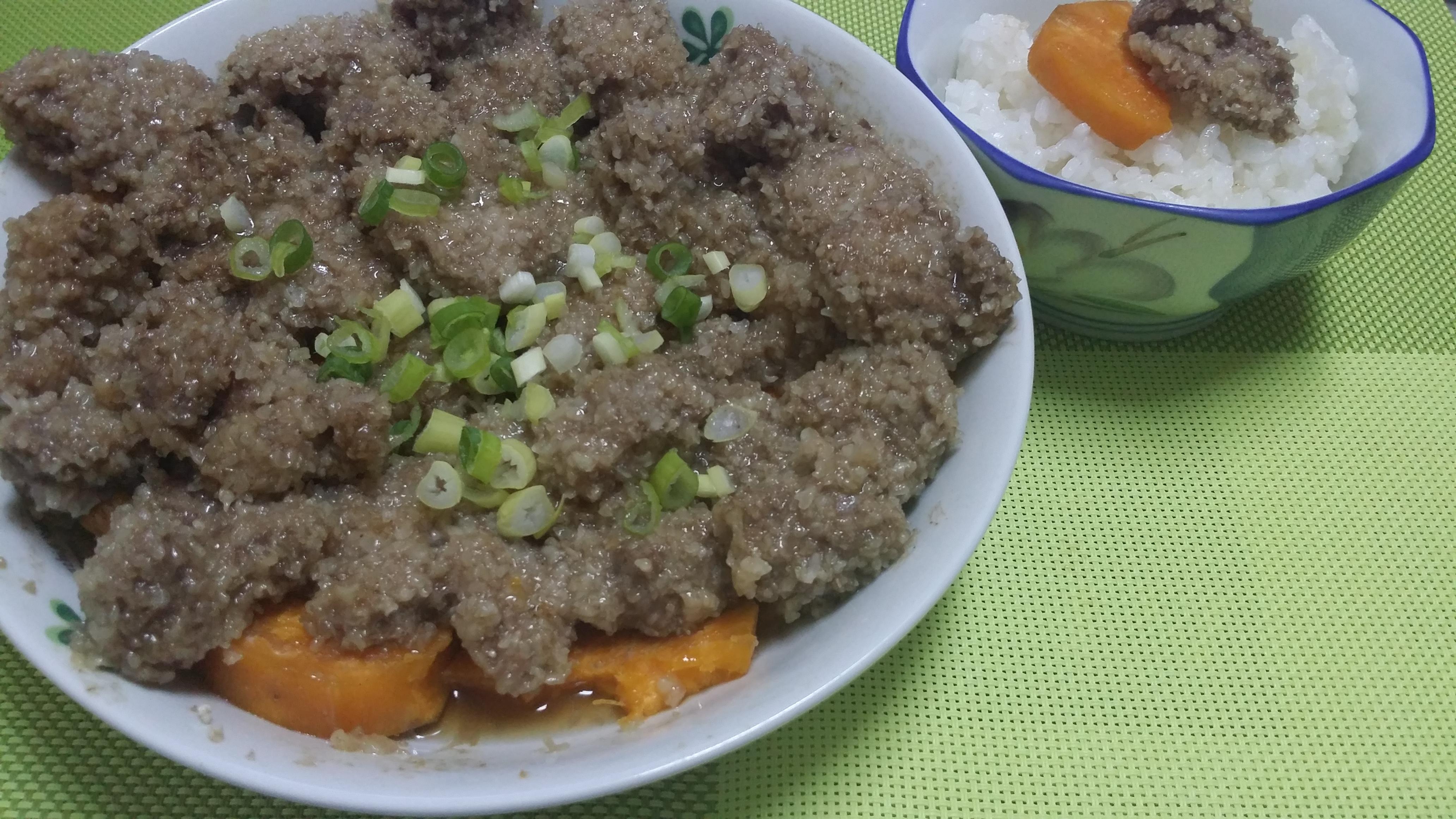 地瓜粉蒸肉
