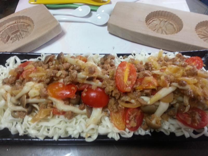 香菇拌麵---五木拉麵