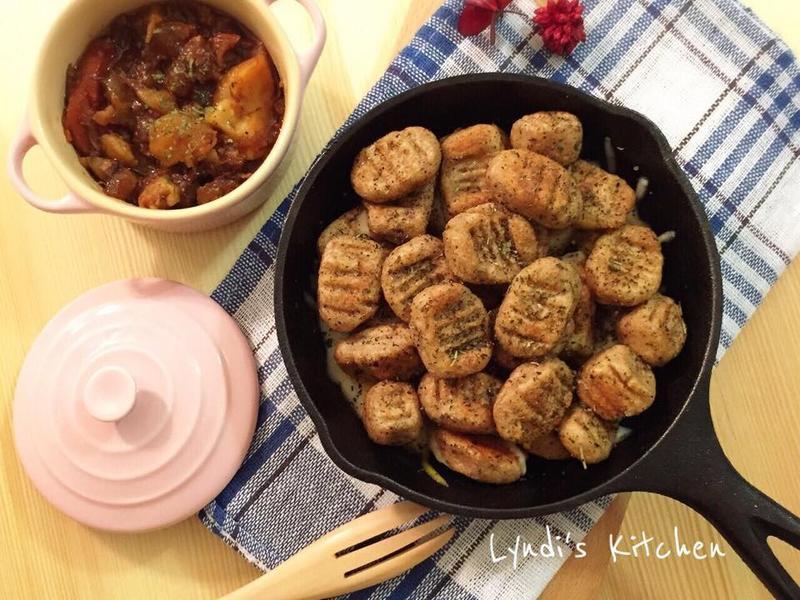 全麥馬鈴薯麵疙瘩Gnocchi