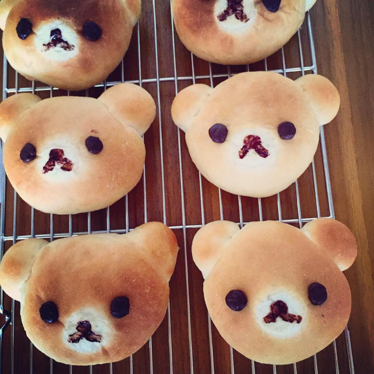 [麵包機]可愛指數爆表拉拉熊麵包