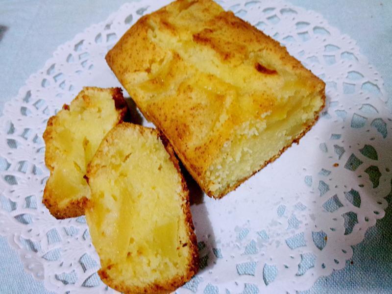 蘋果檸檬磅蛋糕