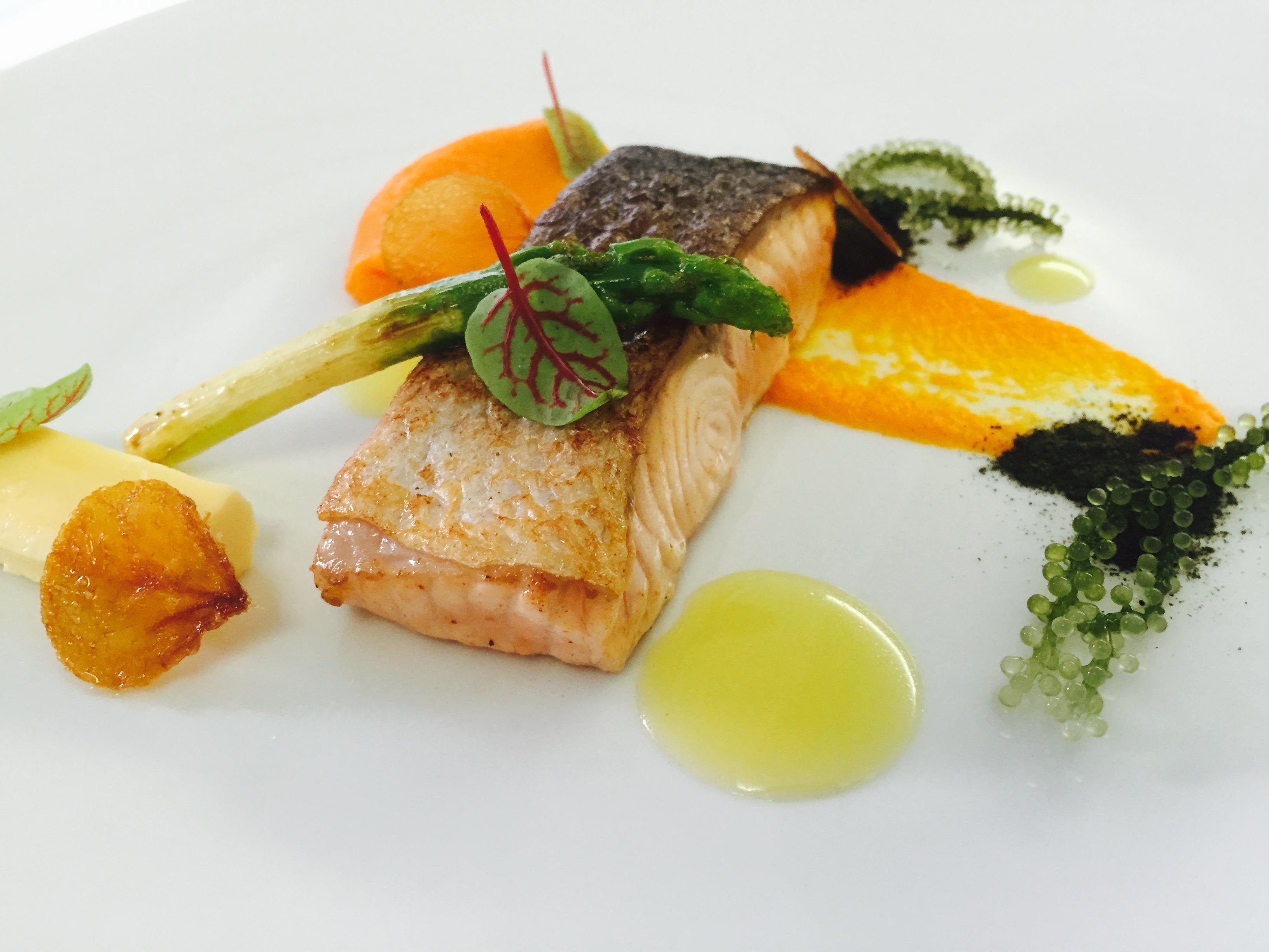 煎烤挪威鮭魚排