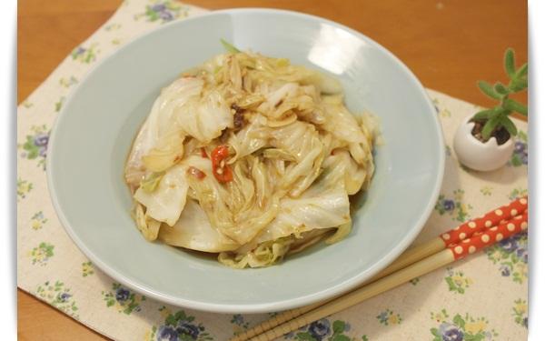 蝦醬高麗菜 - 夏天就愛辣辣,好開胃!