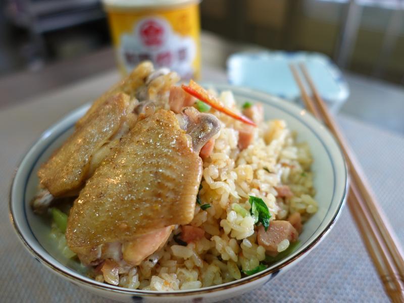 咖哩雞翅炊飯【牛頭牌咖哩新食代】