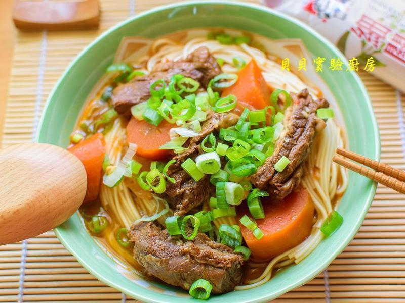媽媽的紅燒牛肉麵【五木拉麵】