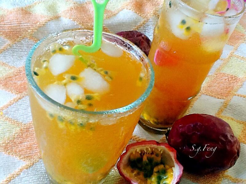 蜂蜜百香綠茶