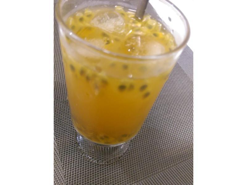 かにの蜂蜜百香綠茶