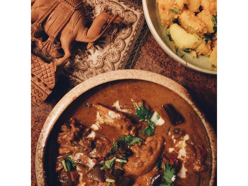 印度風香料雞肉咖哩