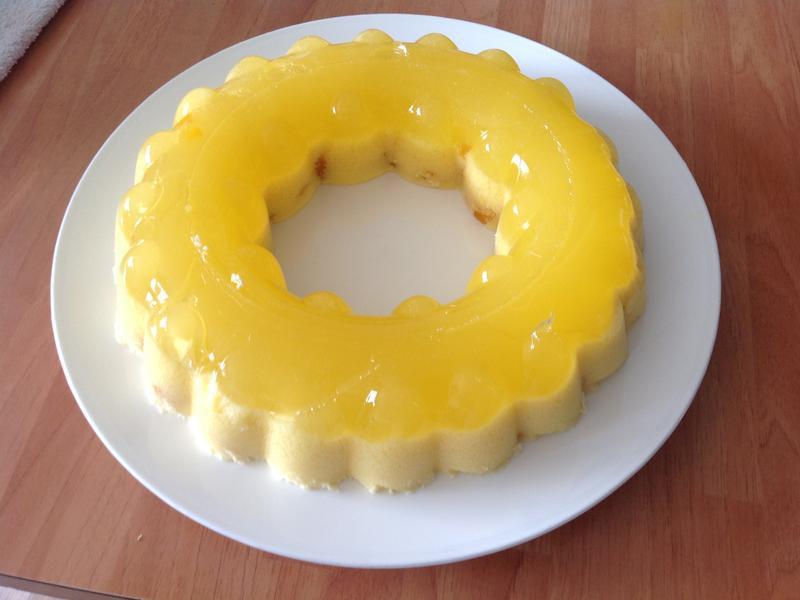 芒果啫喱雪糕布丁