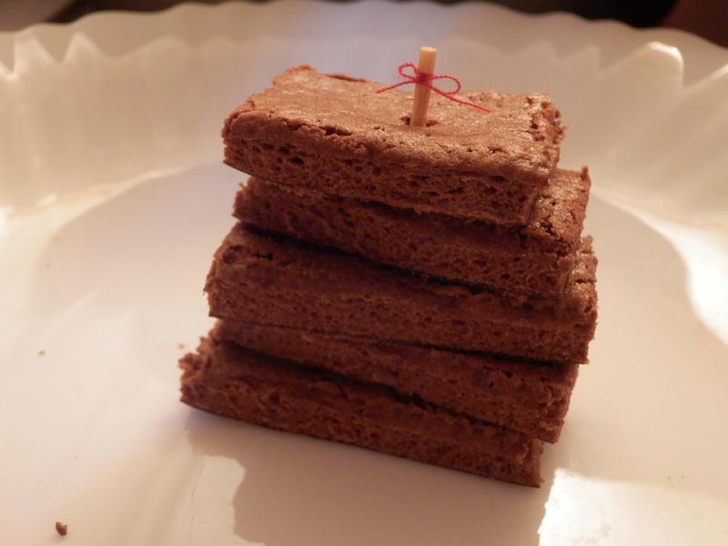 巧克力蛋糕片