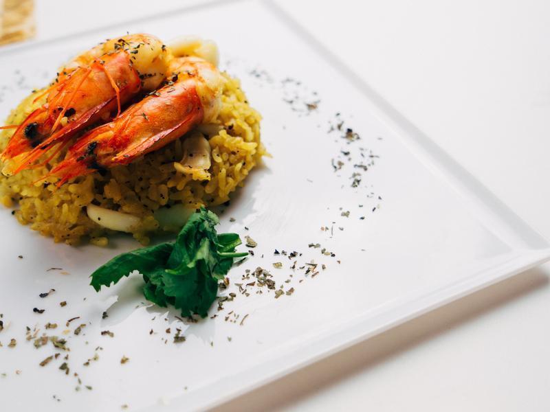 西班牙鮮蝦燉飯-對時海鮮