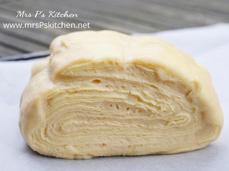 丹麥酥麵包麵團