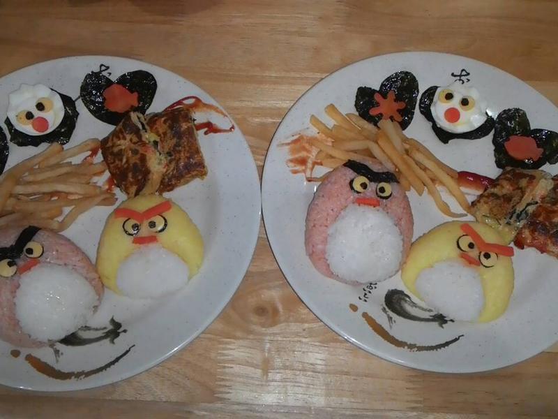 雙寶媽的親子餐~憤怒鳥