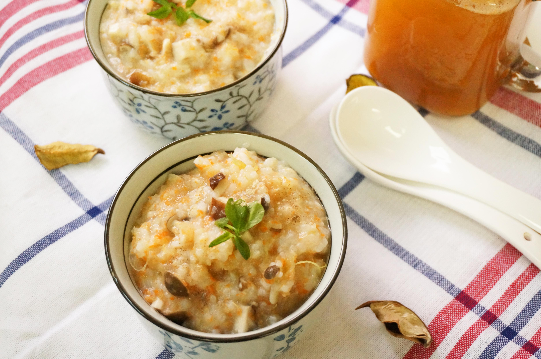 蘋果紅蘿蔔芹菜汁+高纖什菇粥-慢磨蔬果機