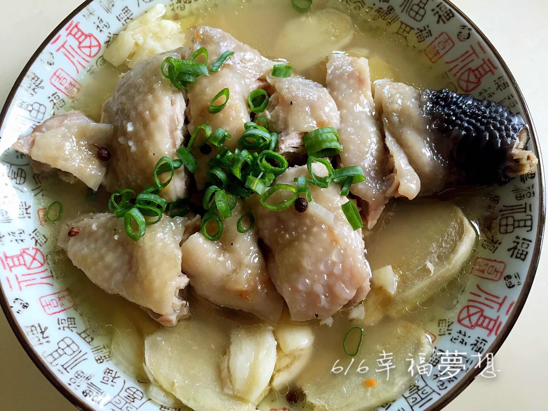 蒜頭薑雞腿(電鍋版)