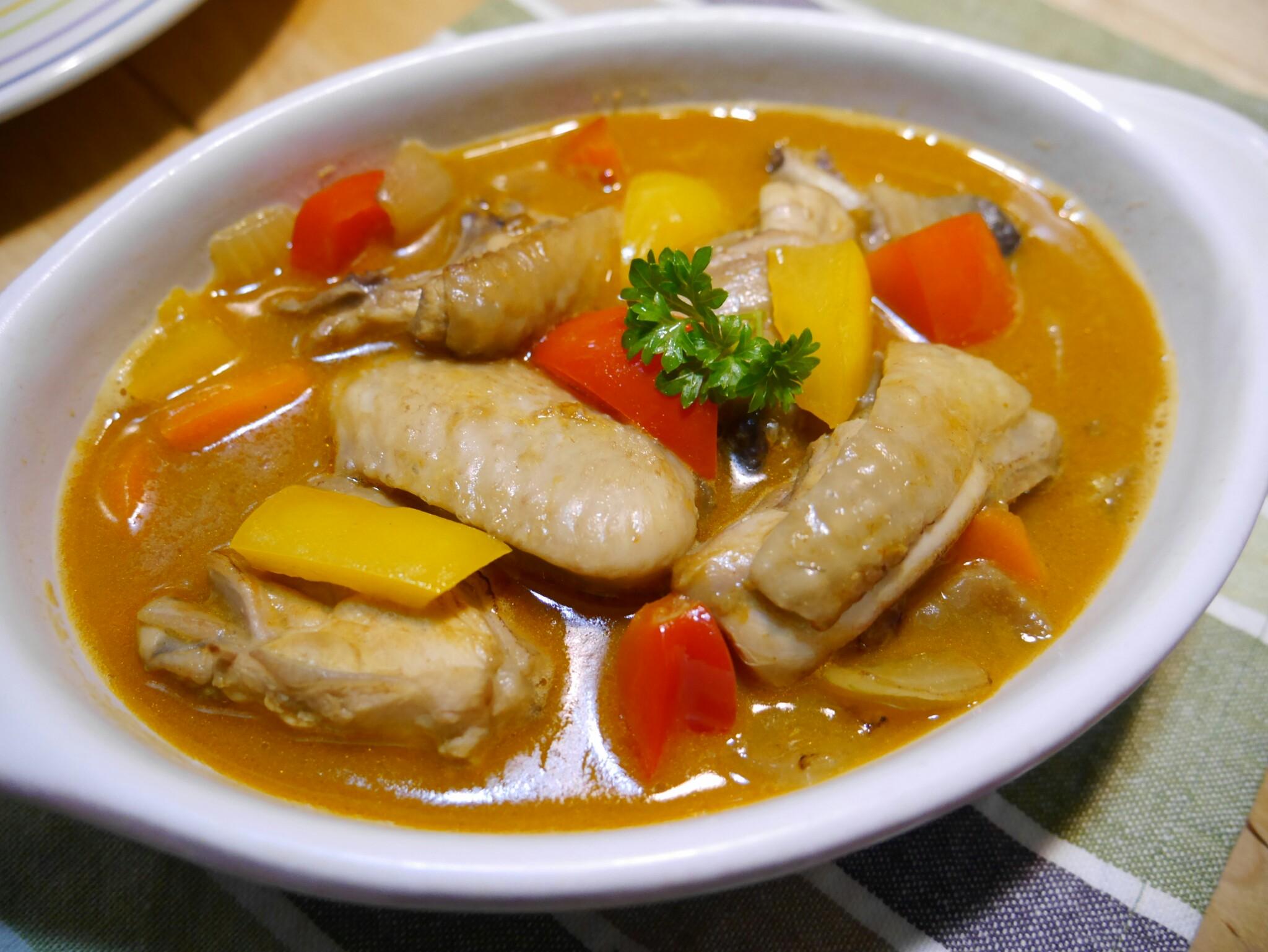 海鮮白醬咖哩燉雞_牛頭牌咖哩新食代