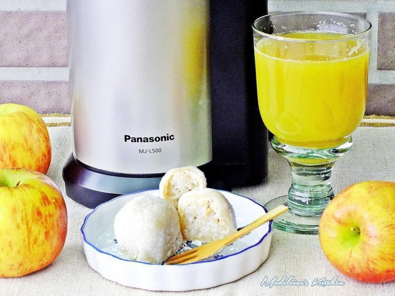 蘋果芭樂果汁+蘋果芭樂大福-慢磨蔬果機