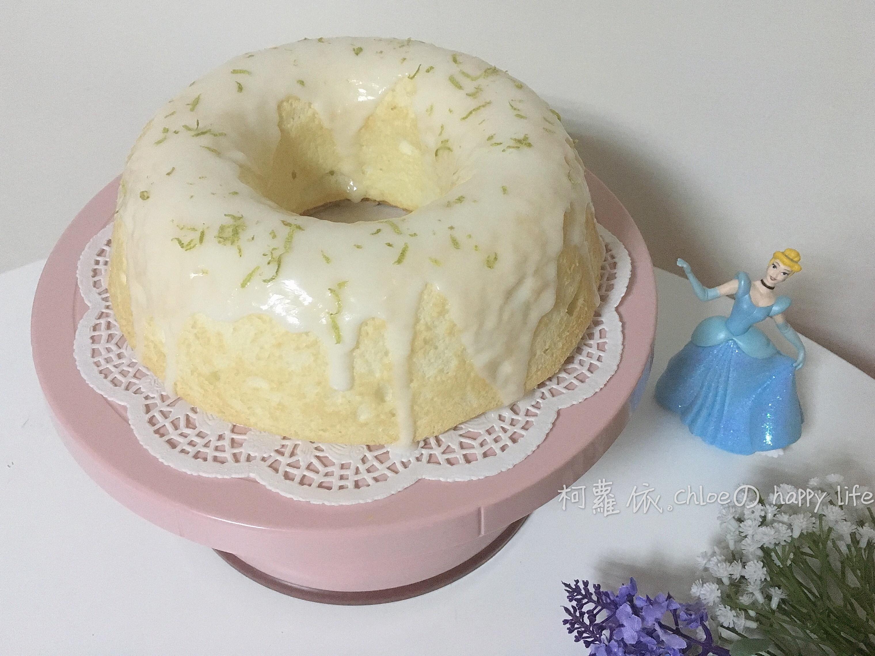 檸檬糖霜天使蛋糕