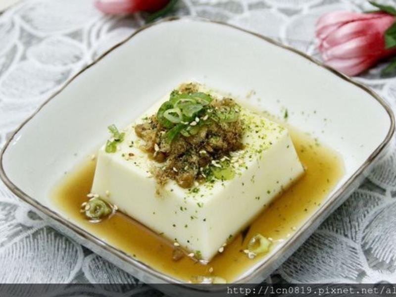 涼拌芙蓉豆腐