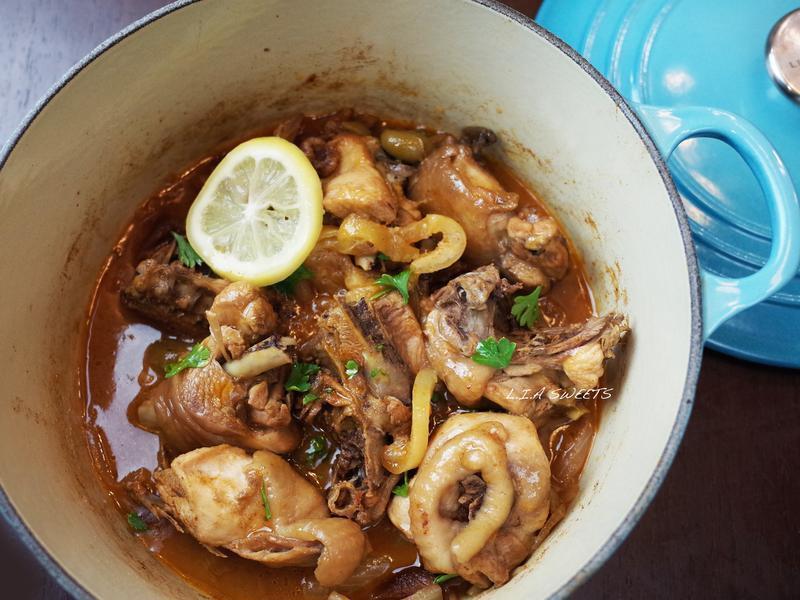 一鍋到底~摩洛哥鹹檸檬香料燉雞