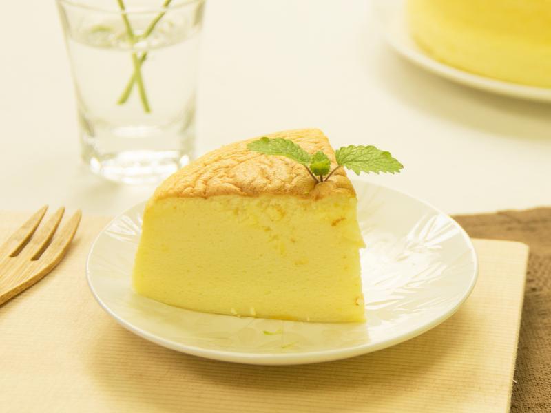 用起司片做輕乳酪蛋糕