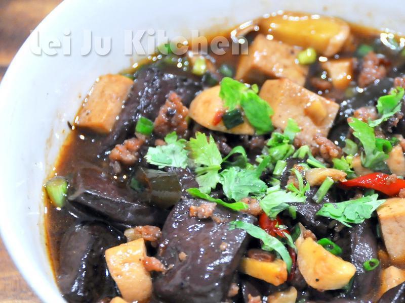 豬血豆腐煲